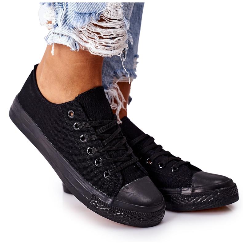 PS1 Women's Classic Black Omerta Sneakers