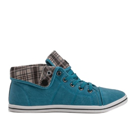 High Sneakers Konwers DD52 Blue