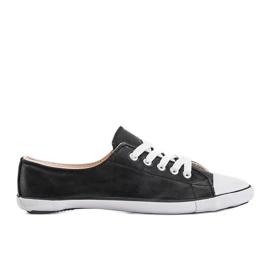 Classic Sneakers Material D-3 Black