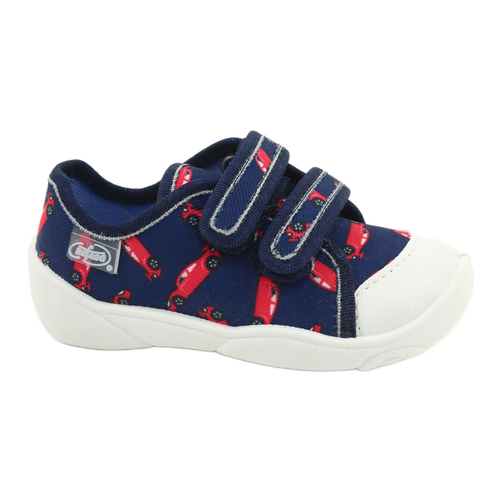 Befado yellow children/'s shoes 350P018 red navy