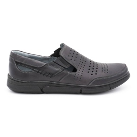 Polbut Gray men's summer shoes J53 grey