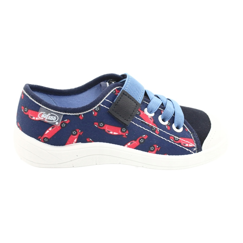 Befado children's shoes 251X160 red navy blue