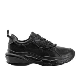 Allie black sneakers