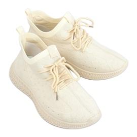 Beige PC01 LT.BEIGE sock sports shoes