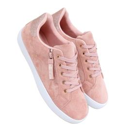Pink women's sneakers C2006 Pink