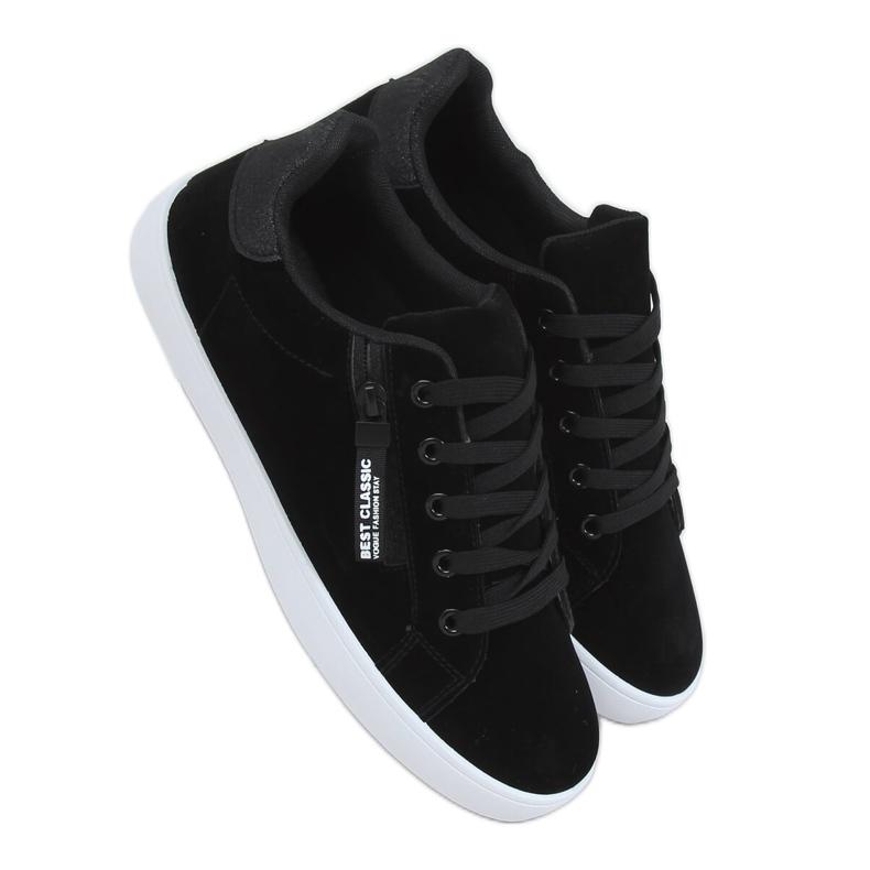 Black women's sneakers C2006 Black