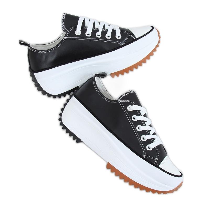 Designer sneakers with black VL138 Black sole