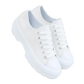 White women's sneakers LA138 White