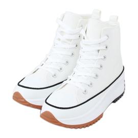 Designer sneakers with white VL135P White sole