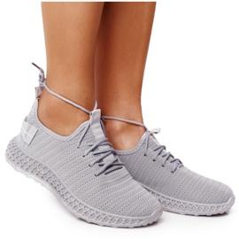 PS1 Women's Sport Shoes Slip-on Gray Do It grey