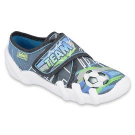 Befado children's shoes 273Y317 blue grey multicolored green