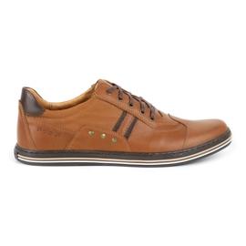 Polbut 1801L Ax Camel casual men's shoes brown