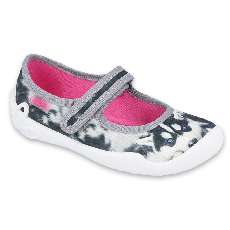 Befado children's shoes 114X440 white grey