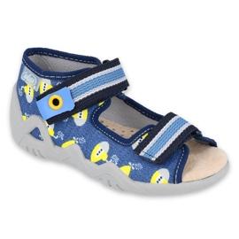 Befado yellow children's shoes 350P020 blue