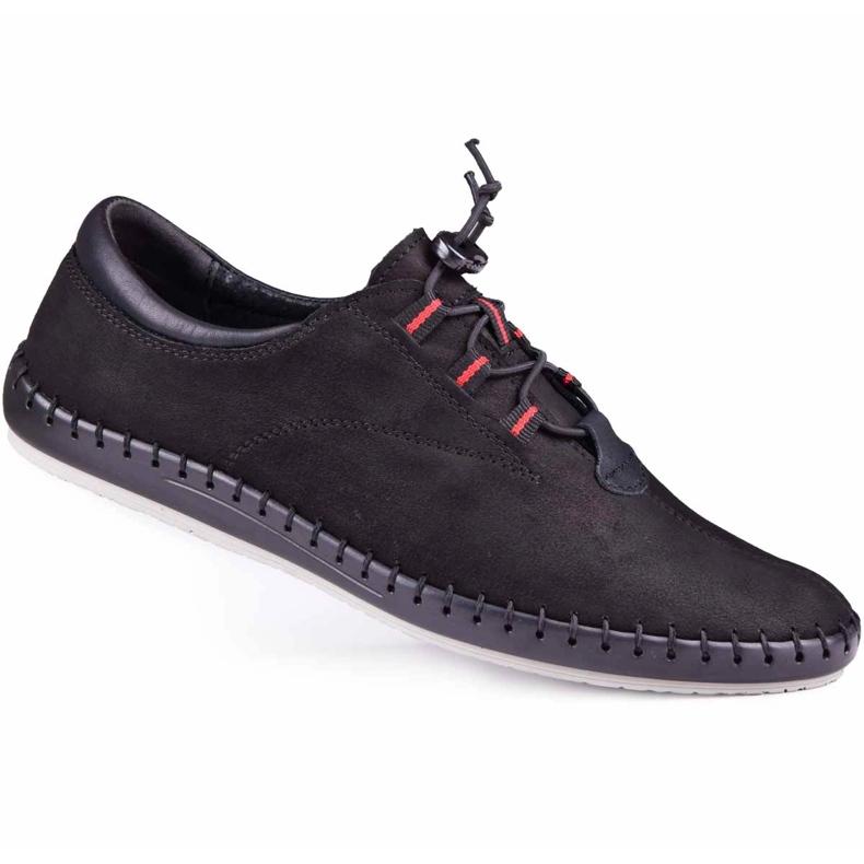 Kampol Black casual men's shoes 337/61