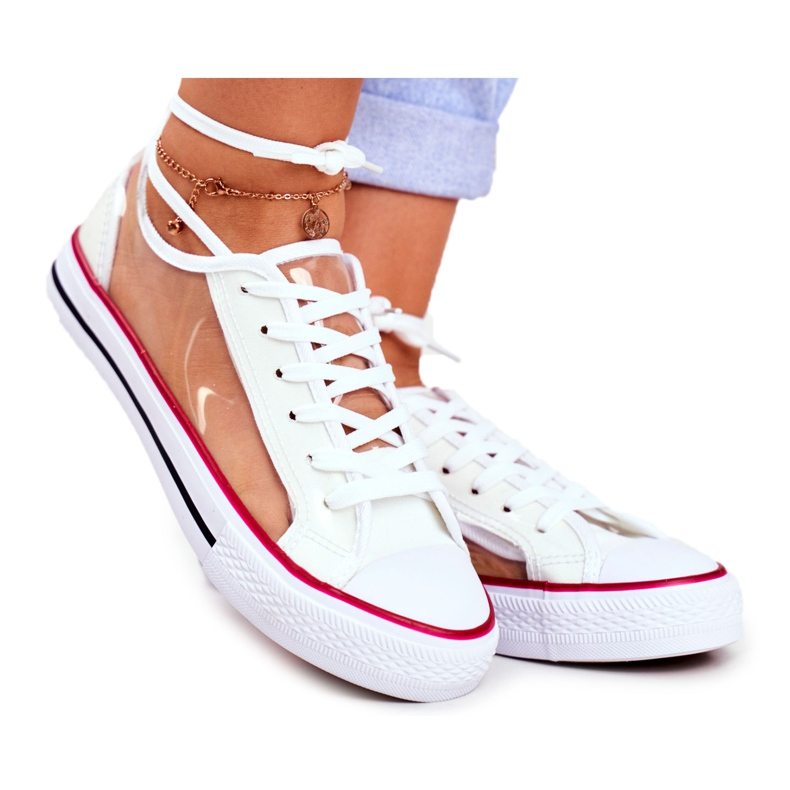 PS1 Women's Sneakers White Transparent Elements Grace colorless