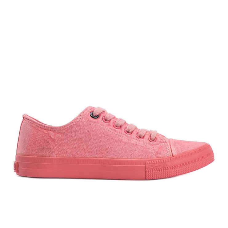 Big Star pink Carolyn sneakers red
