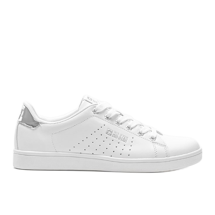 Big Star sneakers low classic white Angelise