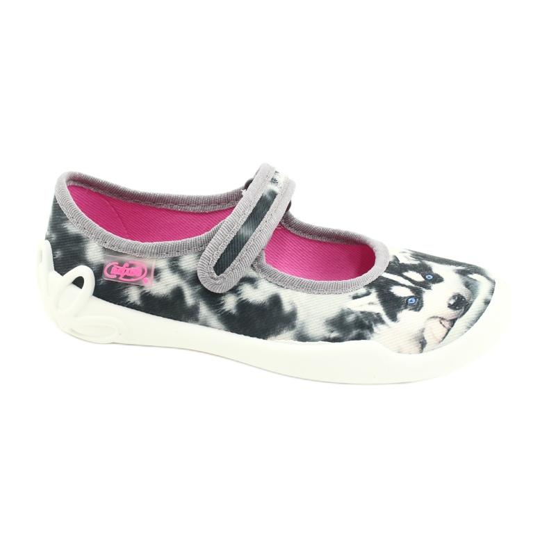 Befado children's shoes 114X440 white black grey