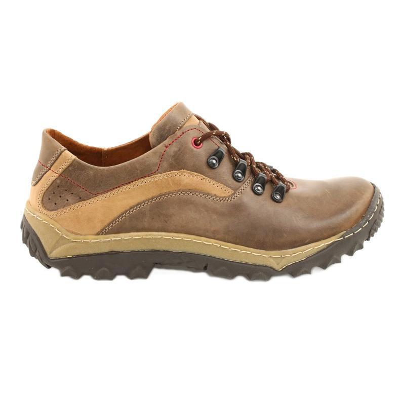 KENT Men's trekking shoes 268K brown beige