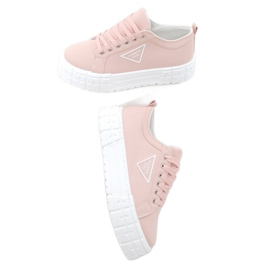 Pink women's sneakers LA134 Pink