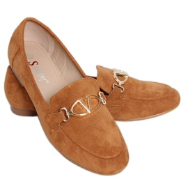 Camel T395 Camel women's loafers brown