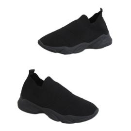 Black NB399 Black socks sports shoes