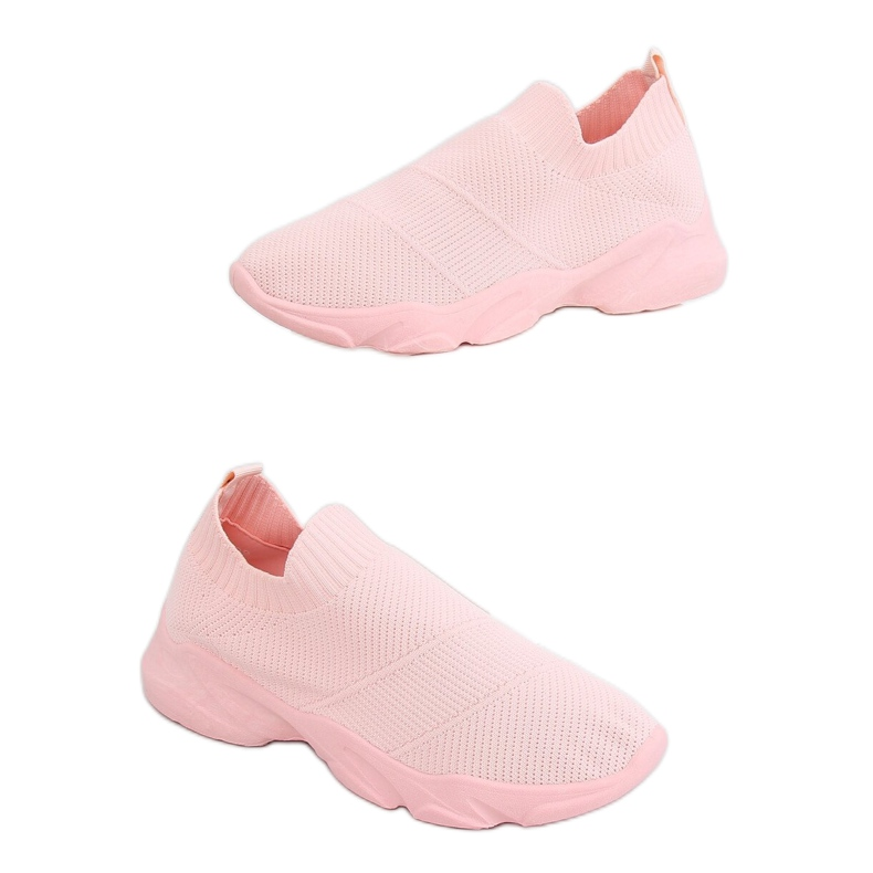 Pink NB399 Pink socks sports shoes
