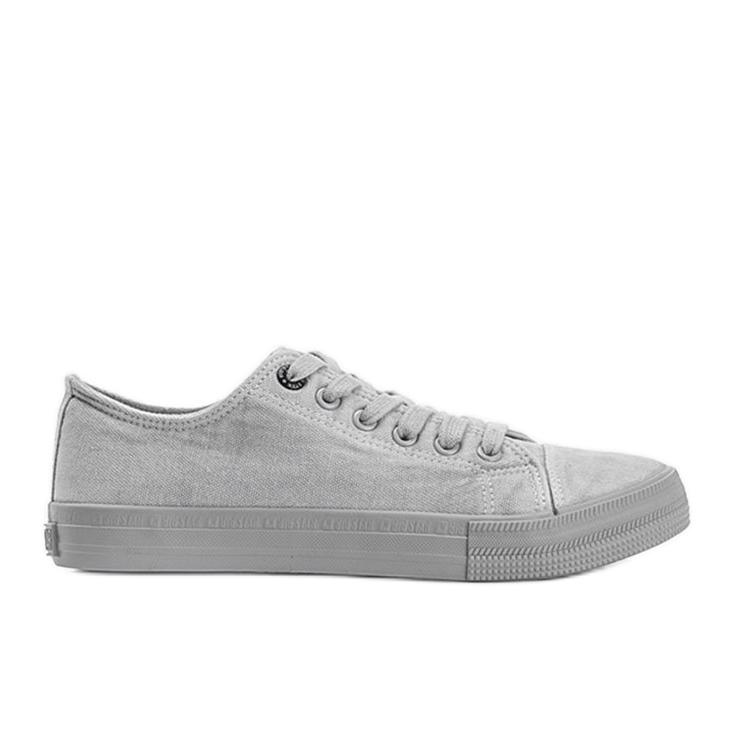 Classic sneakers Big Star gray Amber grey