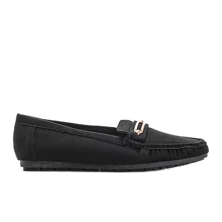 Black women's Keyla loafers