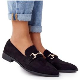 S.Barski Elegant Women's Loafers S. Barski Suede Black