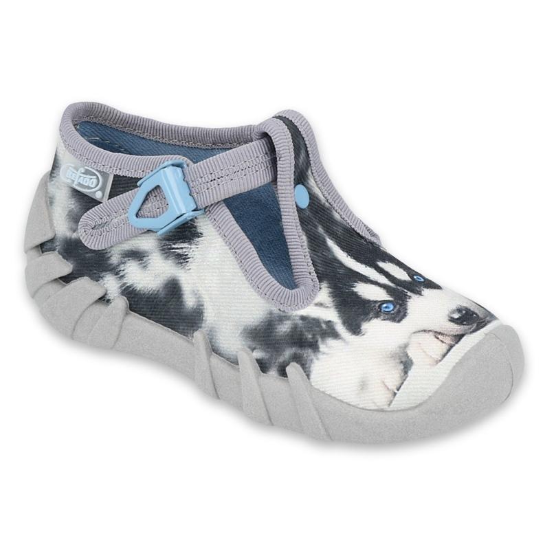 Befado children's shoes 110P417 blue grey