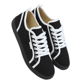 Black NB385P Black sneakers white