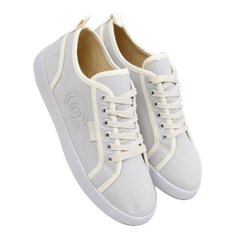 Gray NB385P Gray sneakers ecru grey