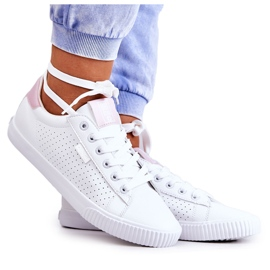 Women's Sneakers Big Star HH274073 White and Pink