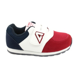 American Club Sports shoes leather insert American BS01 BS02 Red white navy blue