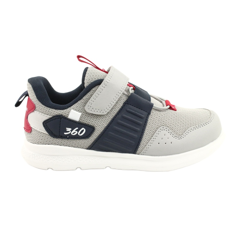 American Club AA06 leather insole red navy blue grey