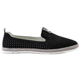 Filippo Casual Leather Slipons black