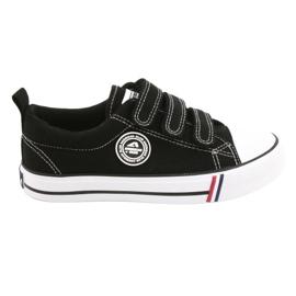 American Club Black Velcro sneakers American LH31 / 21