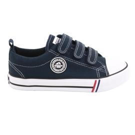 American Club Velcro sneakers American LH31 / 21 navy blue