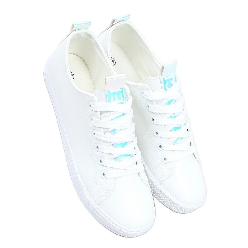 White women's sneakers LA70P White