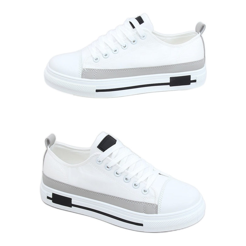 White women's sneakers LA173P White