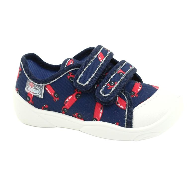 Befado children's shoes 907P133 red navy