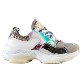 SHELOVET Sport Fashion colorful sneakers multicolored