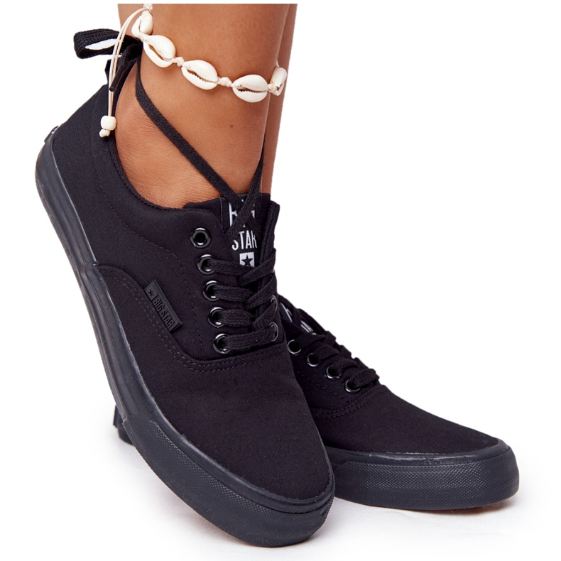 Women's Sneakers Big Star FF274164 Black
