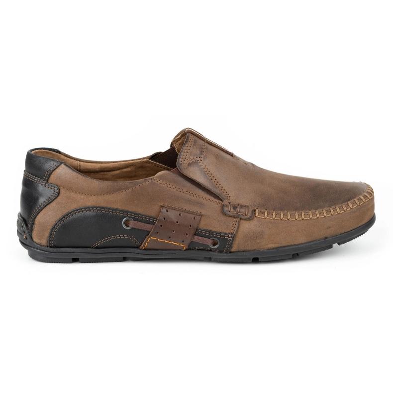 Mario Pala Brown men's loafers 834