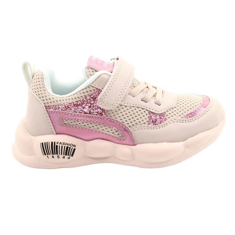 American Club Fashionable Halogen Sport Shoes ES23 / 21 pink
