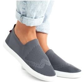 Women's Sneakers Slip-on Big Star FF274A607 Gray grey