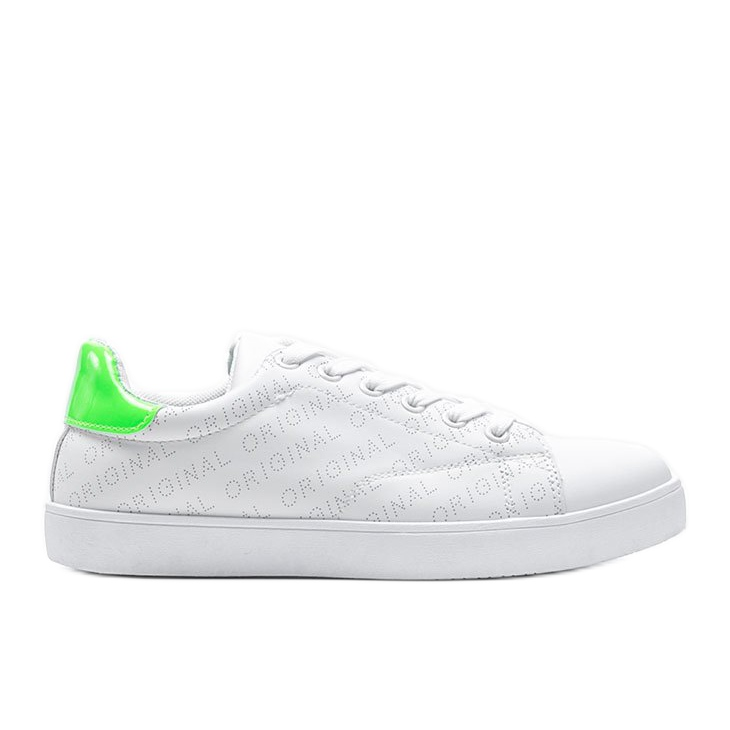 Classic white sneakers from Kaylah