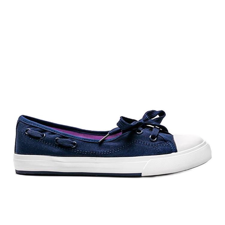 Alana women's navy blue half-sneakers